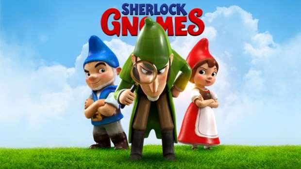 Win a family pass to Sherlock Gnomes