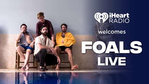 iHeartRadio welcomes FOALS live in NZ!
