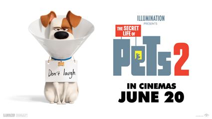 Win a double movie pass to Secret Life of Pets 2