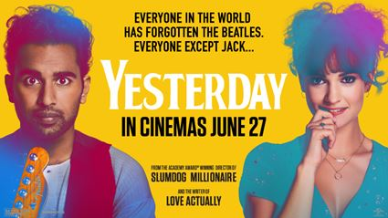 Win a double movie pass to Yesterday