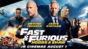 Win a double movie pass to Fast & Furious Presents: Hobbs & Shaw