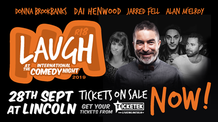 Win a double pass to International Comedy Night