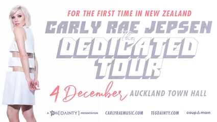 Win tickets to Carly Rae Jepson