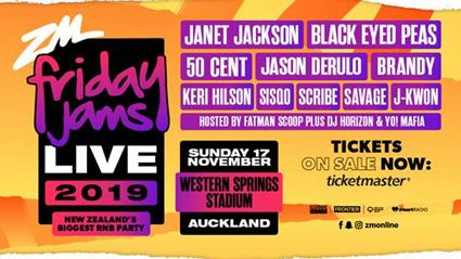 Win tickets to Friday Jams Live