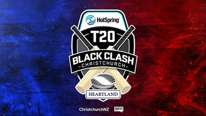 Win tickets to the Hot Spring Spas T20 Christchurch Black Clash