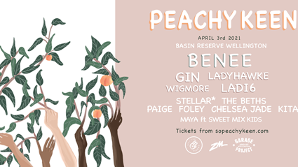 Win tickets to Peachy Keen